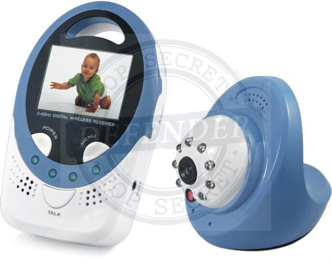 בייבי מוניטור F1 - אינטרקום וידאו לתינוק עם סאונד דו-כיווני