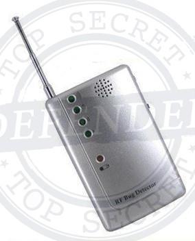מכשיר גילוי ואיתור מצלמות סמויות והאזנות סתר BD55