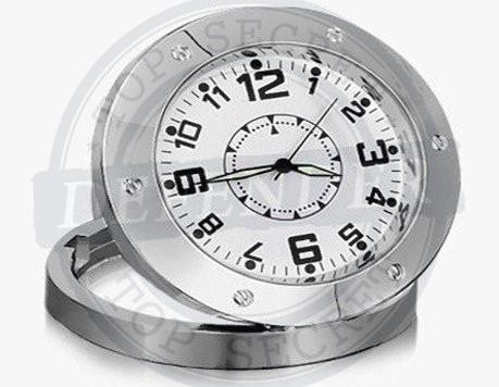 שעון שולחני עם מצלמה נסתרת וגלאי תנועה MC6