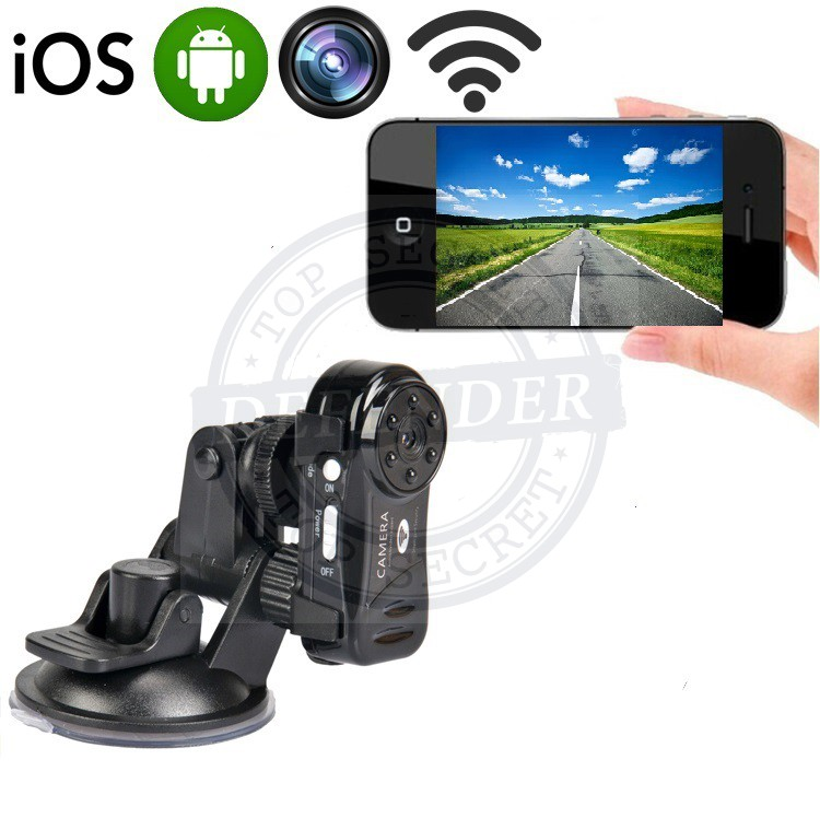 מצלמה לרכב עם צפייה באמצעות הטלפון הנייד VD707