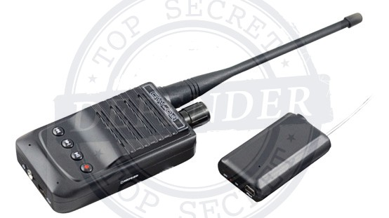 מכשיר מקצועי להאזנה מרחוק לטווח של עד 500 מטר CX1000