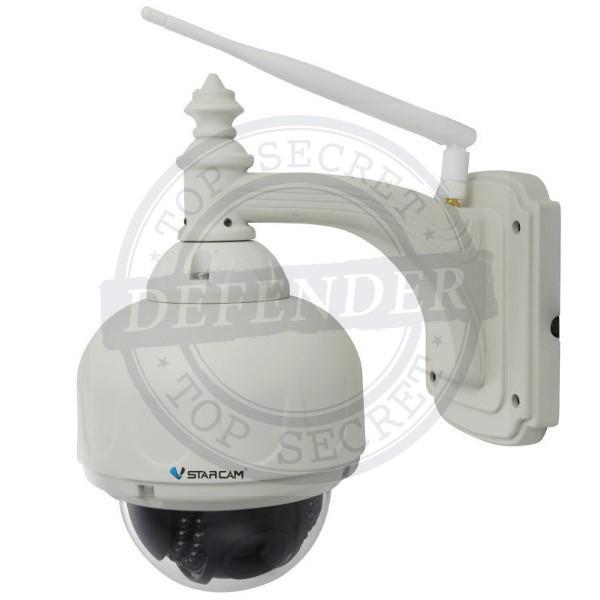 מצלמת IP אלחוטית ממונעת עם ראיית לילה PTZ - Vstarcam