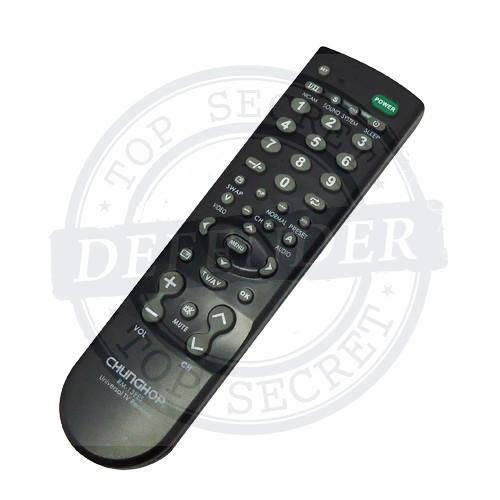 מצלמה נסתרת סמויה בתוך שלט טלויזיה אוניברסלי RCC44