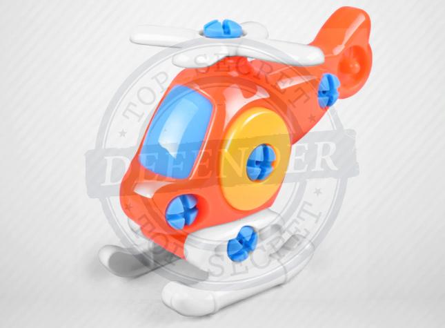 מכשיר הקלטה זעיר לגן סמוי בצעצוע בצורת מסוק/מכונית/קטר KGR7