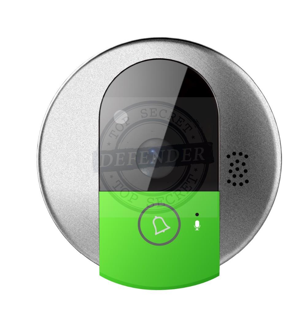 עינית לדלת משולבת מצלמה אלחוטית לצפייה באמצעות הסלולרי DWC77