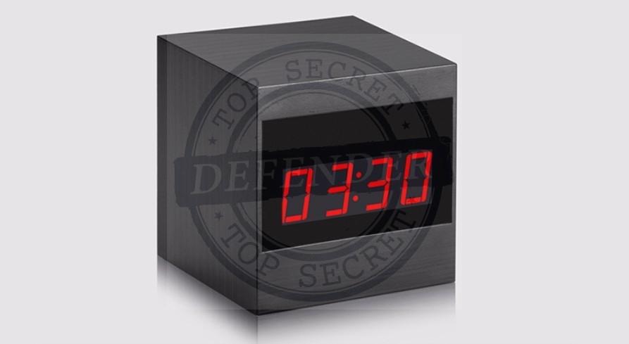 מצלמה אלחוטית זעירה נסתרת בשעון שולחני מעוצב AC900