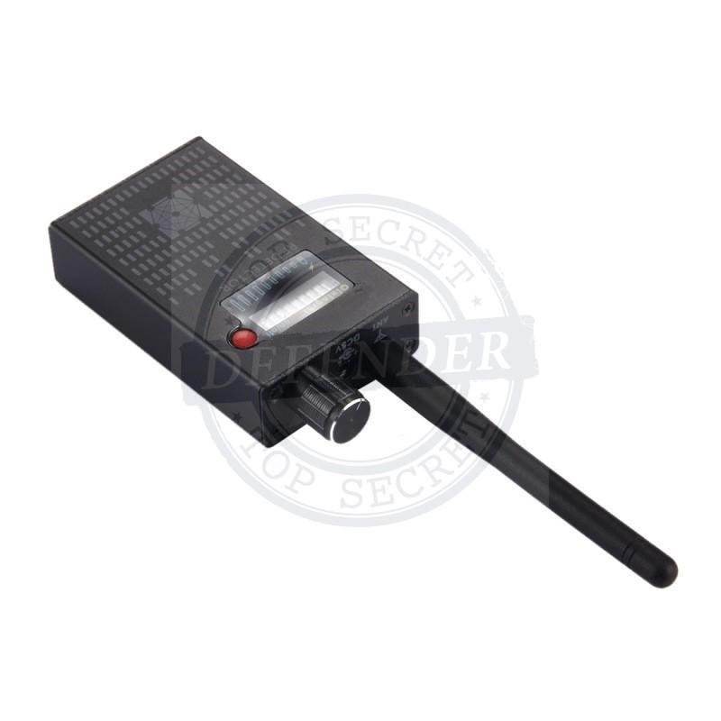 מכשיר מקצועי לגילוי האזנות ומצלמות אלחוטיות RF-PRO2003