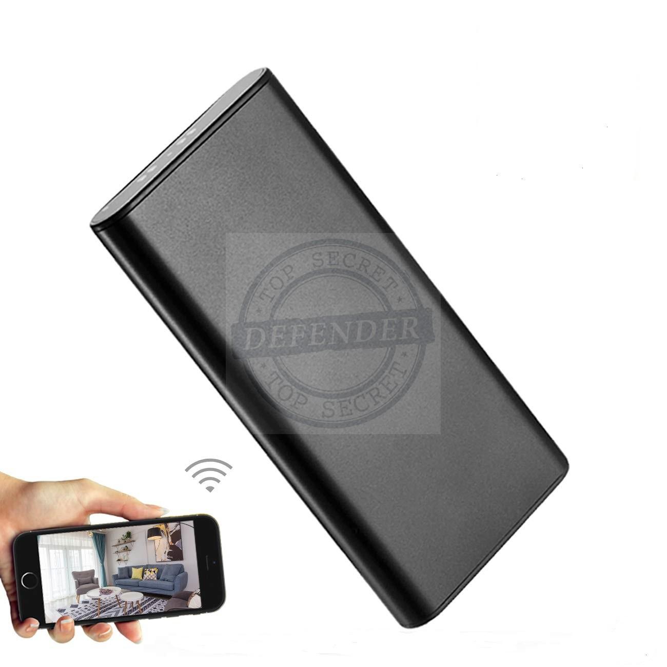 מצלמה נסתרת אלחוטית בסוללת גיבוי לטלפונים ניידים WPB677