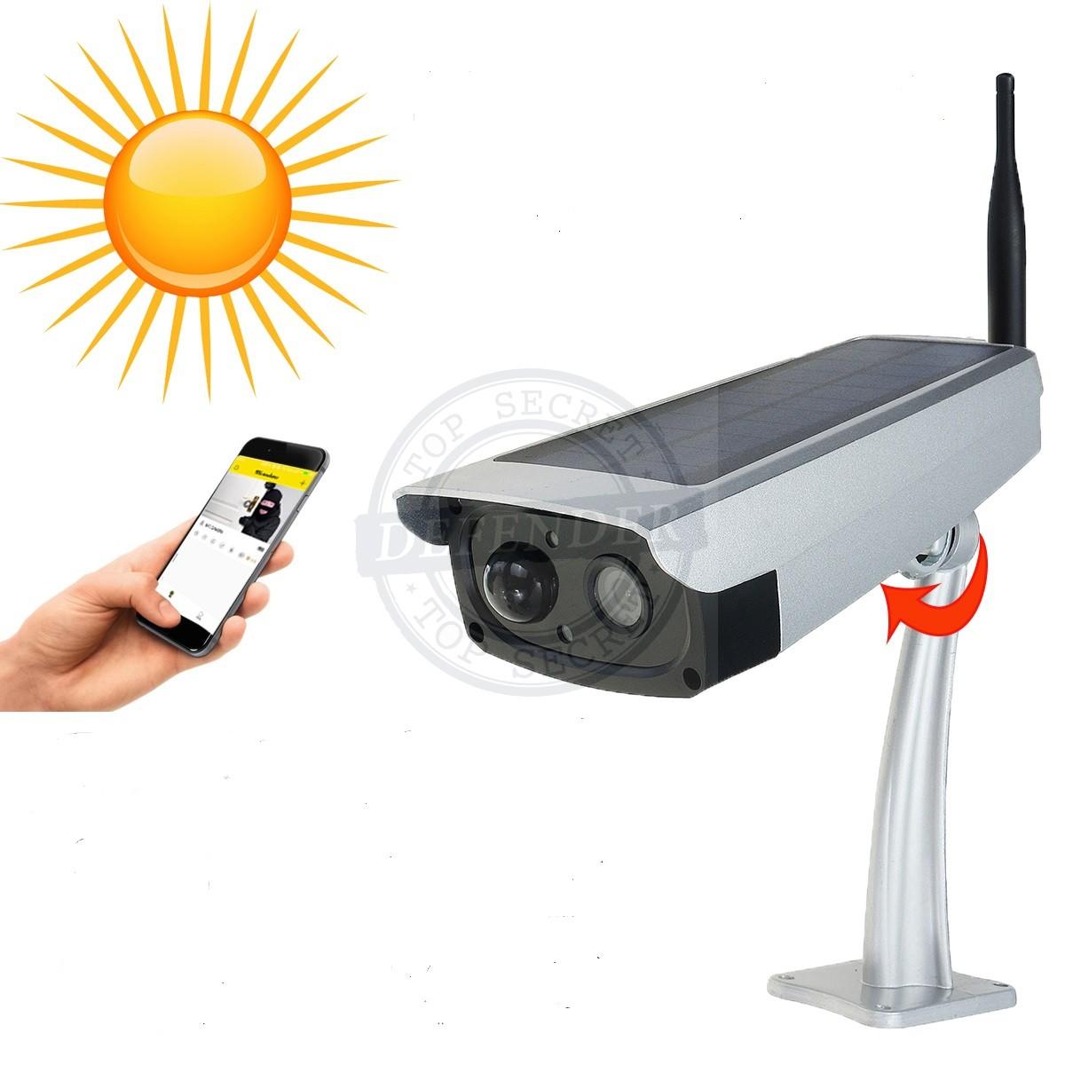 מצלמת אבטחה אלחוטית סולרית ללא צורך בחשמל  SVR707