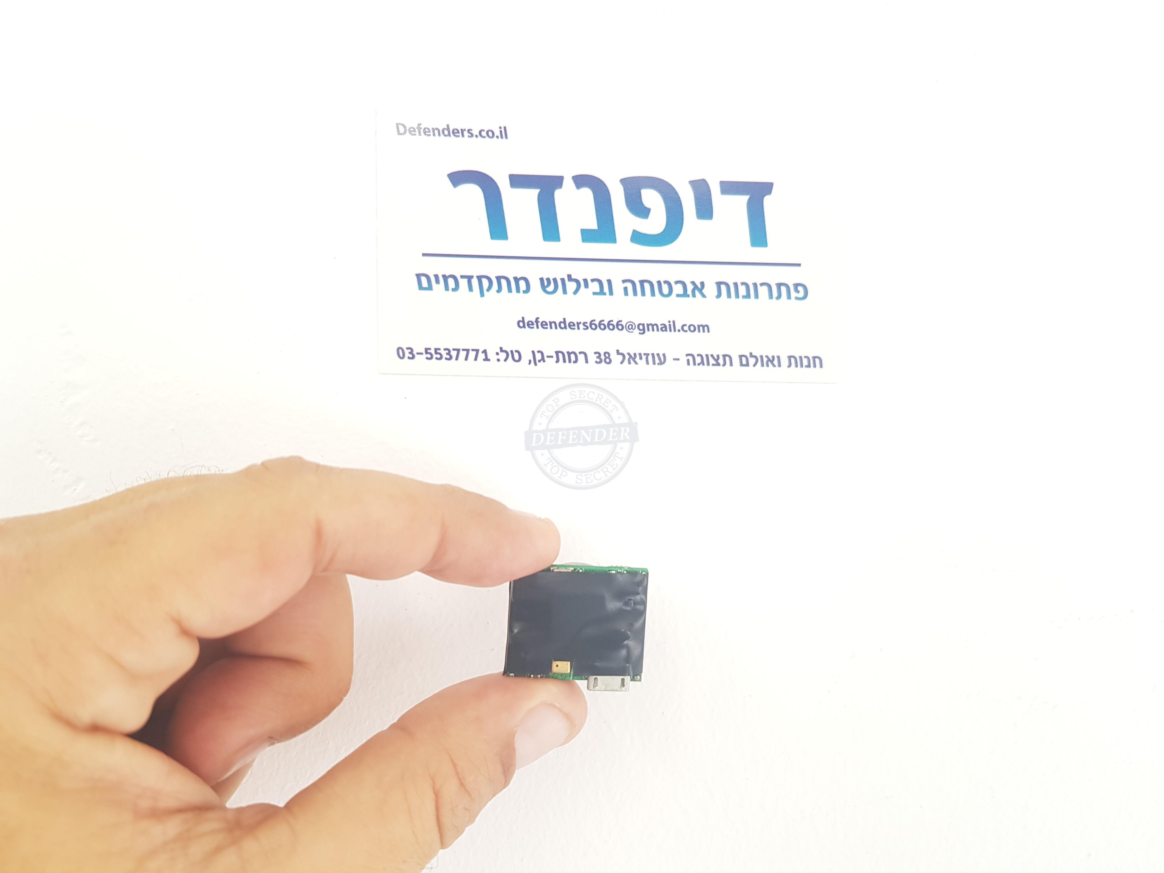 מכשיר הקלטה הזעיר בעולם עם חיישן קול DR906