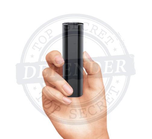 מכשיר הקלטה זעיר נסתר במטען נייד לטלפונים ניידים PVR677