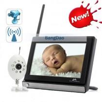בייבי מוניטור F337 - אינטרקום וידאו לתינוק עם מסך 7 אינץ
