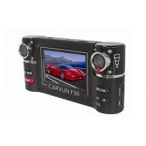מצלמת אבטחה לרכב עם עדשה כפולה וראיית לילה  - F30