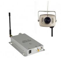 מיני מערכת אבטחה אלחוטית הכוללת מיני מצלמה אלחוטית עם ראיית לילה - MW44