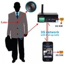 BCR309 מצלמה נסתרת סלולרית דור 3 בצורת כפתור