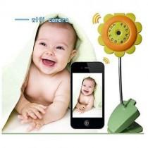 אינטרקום מצלמה אלחוטי לתינוק עם צפייה באמצעות הטלפון הנייד - F6