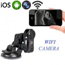 מצלמה אלחוטית זעירה עם ראיית לילה בשידור ישיר לטלפון נייד MD606