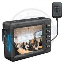 מערכת אולטרה מיני DVR עם מצלמת כפתור