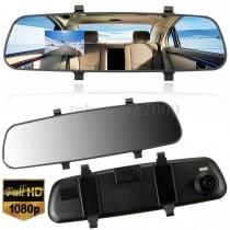 מצלמה לרכב משולבת במראה קדמית עם ראיית לילה MDR388