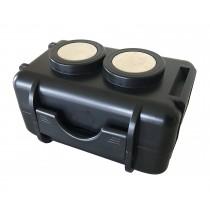 אביזרים למכשירי מעקב - קופסה למכשיר איתור כולל מגנט עוצמתי