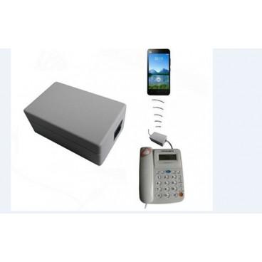 מכשיר הקלטה לטלפון קווי עם יכולת האזנה מרחוק TL606