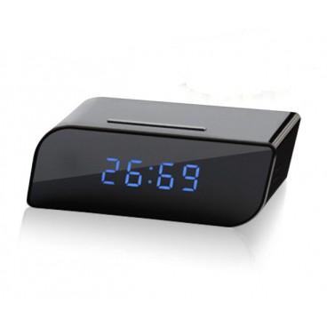 שעון דיגיטלי שולחני עם מצלמה נסתרת וראיית לילה NVR77